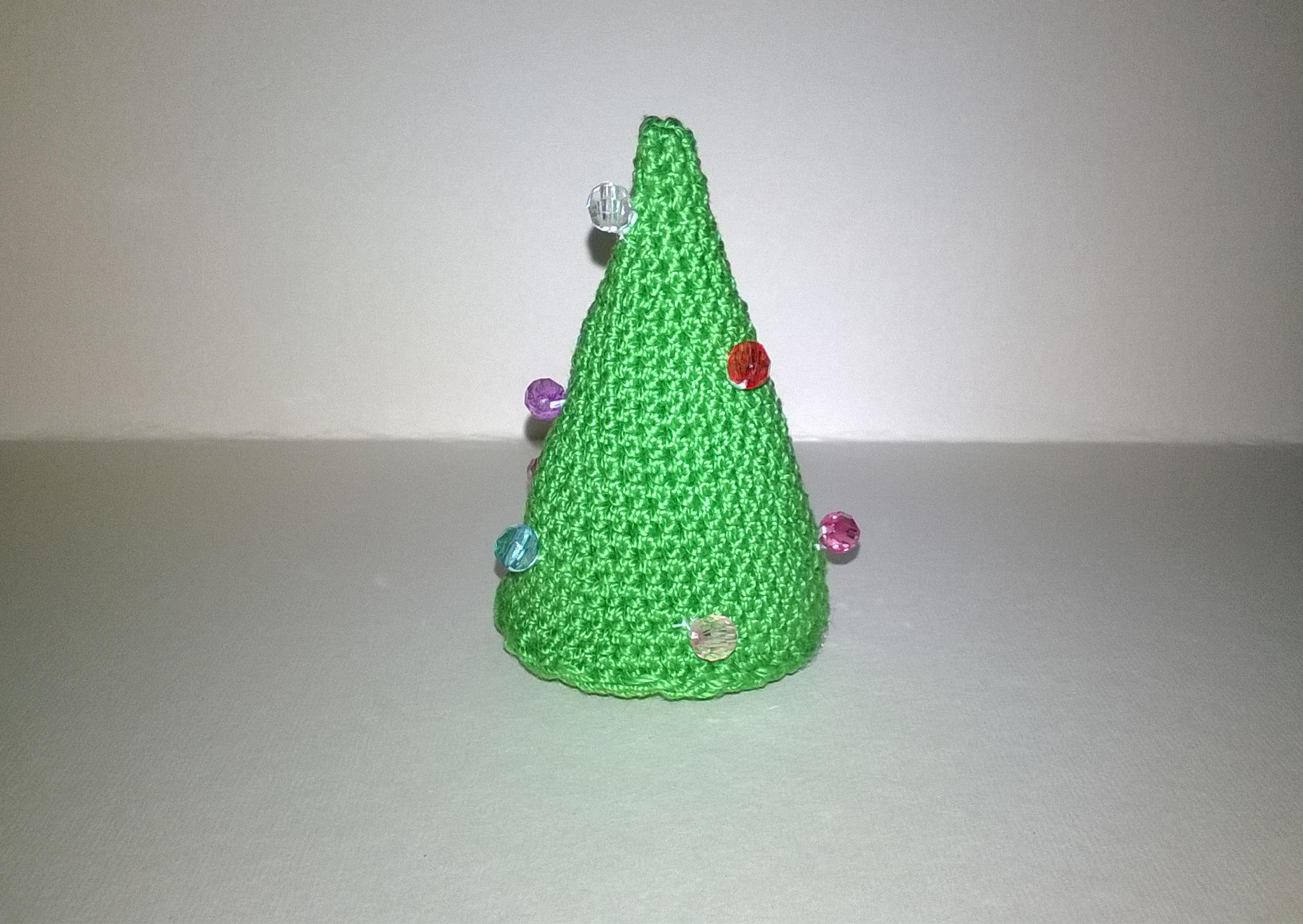 Albero Di Natale Uncinetto Decorazione Segnaposto Hobby Magici